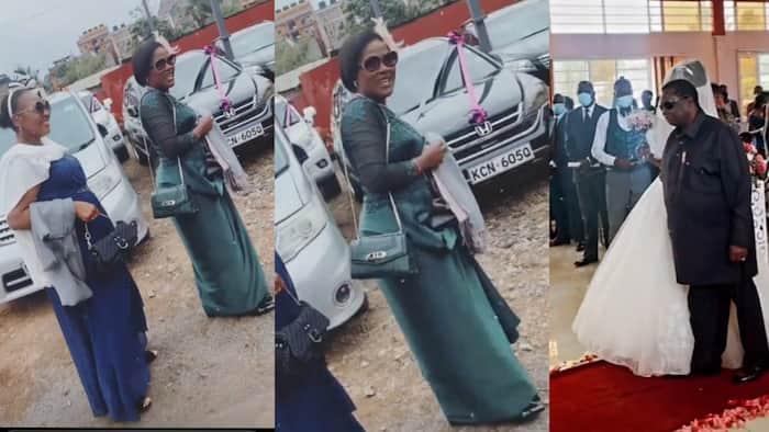 Atwoli, Youthful Wife Mary Kilobi Steal the Show at Kin's Wedding