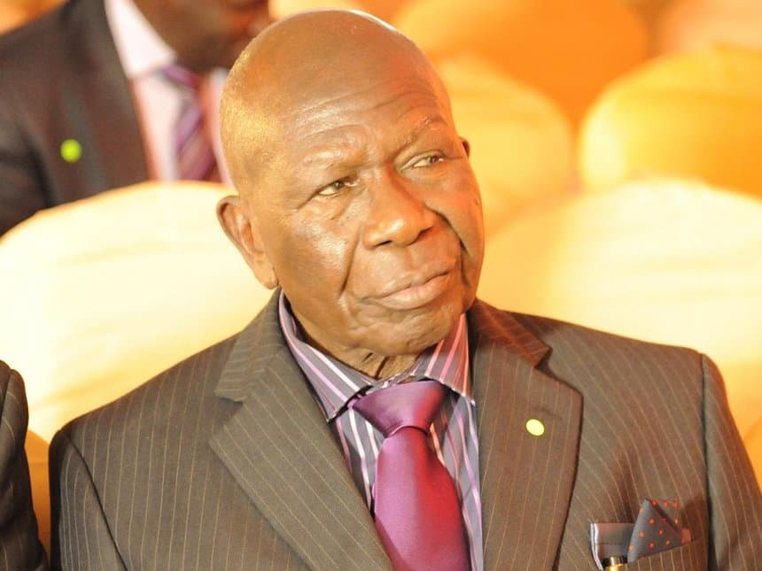Kenyans angered with appointment of 91-year-old former vice president Moody Awori to government
