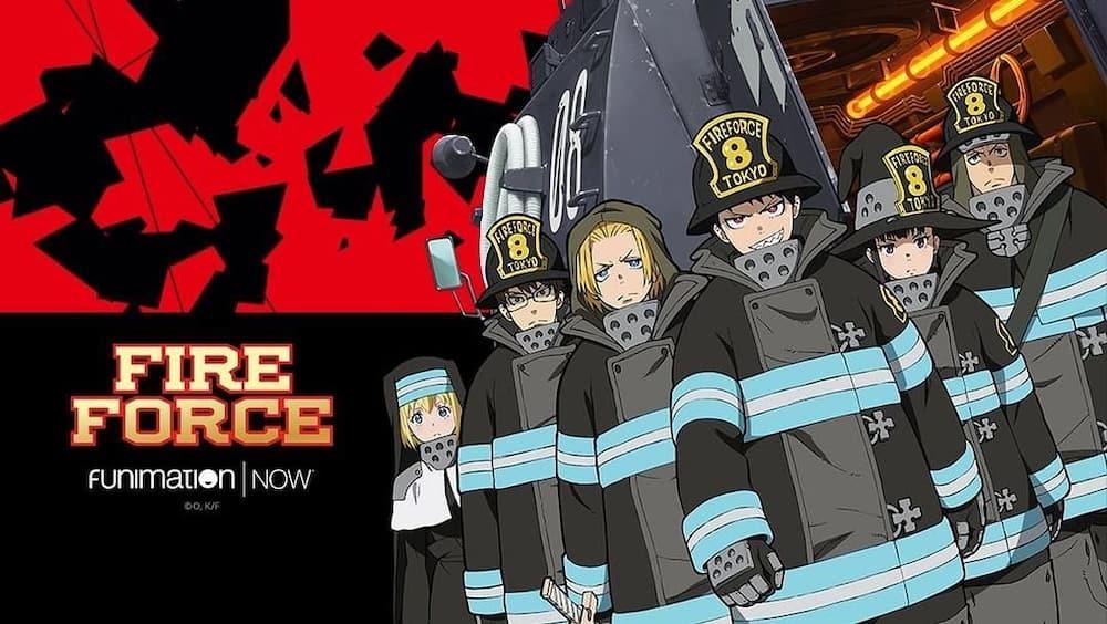 Fire Force anime cast
