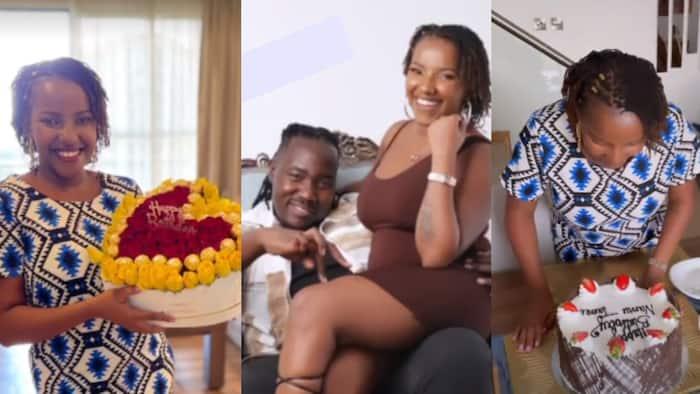 Willis Raburu Treats Lover Ivy Namu to Massage, Beautiful Lunch Date to Celebrate Her Birthday