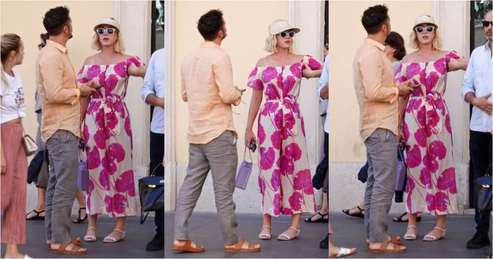 katy perry back at work