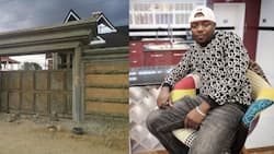 Producer Teddy B Inspires Fans After Sharing Photo of Majestic Mansion He's Building