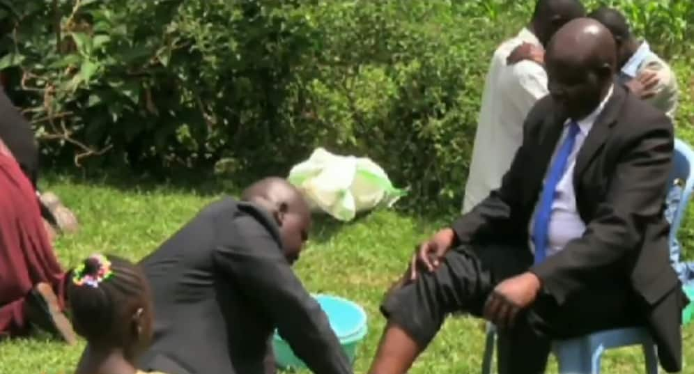 100 SDA faithful wearing sacks arrested after converging for foot washing