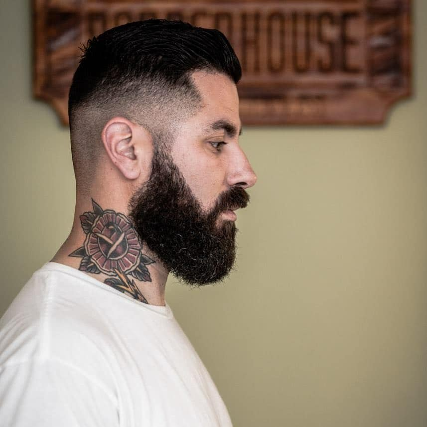 Edgar haircuts with beards