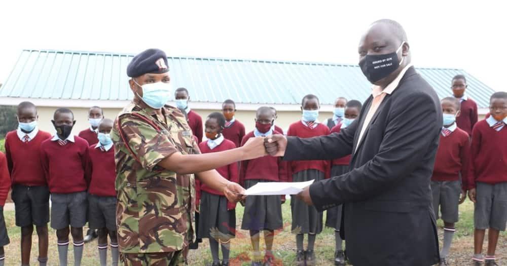 Kenya Defense Forces.