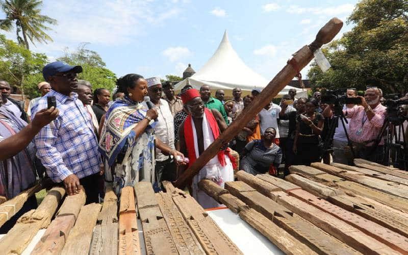 Stolen Mijikenda 'spirits of senior elders' returns home after 40 years