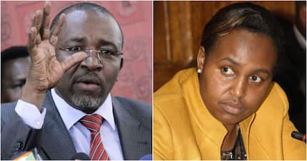 Ugly scene as Meru Senator Mithika Linturi's wife forcibly thrown out of her house