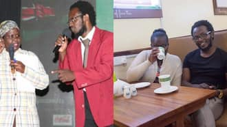 When Love Ruled! 5 Photos of Prof Hamo and Jemutai during Their Happy Moments