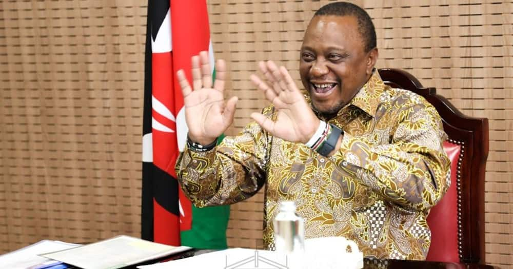 President Uhuru and his erstwhile opponent Raila had a political handshake in 2018.