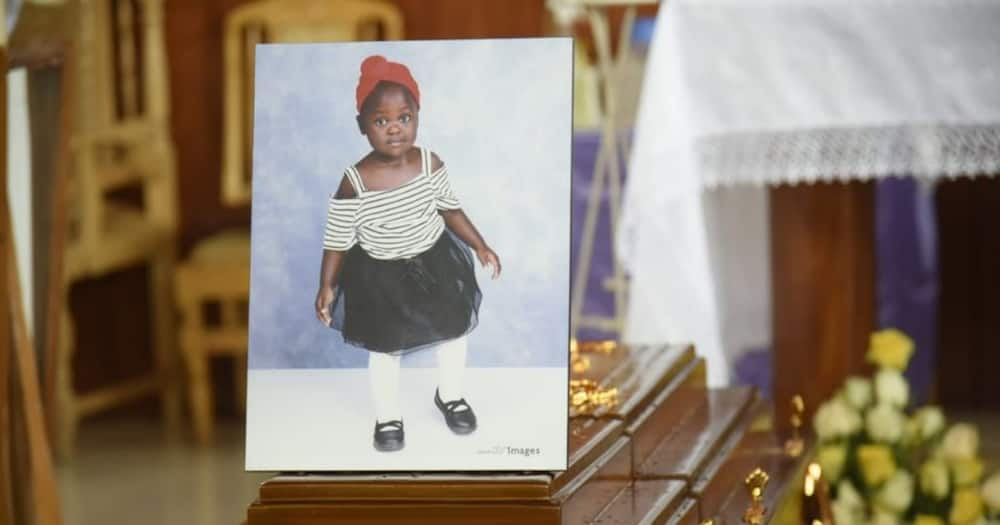 The casket containing the remains of Karuana Gakara. Photo: Nation.