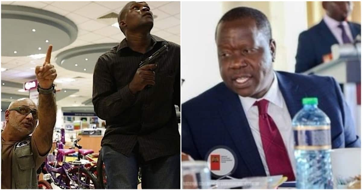Image result for matiang'i on unlicensed firearms
