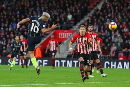 Aguero, Silva on fire as Man City stun Southampton at St. Mary's