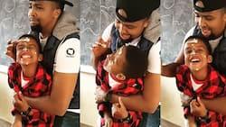 Grace Ekirapa Shares Sweet Video of Pascal Tokodi Bonding with Nephew on His Birthday