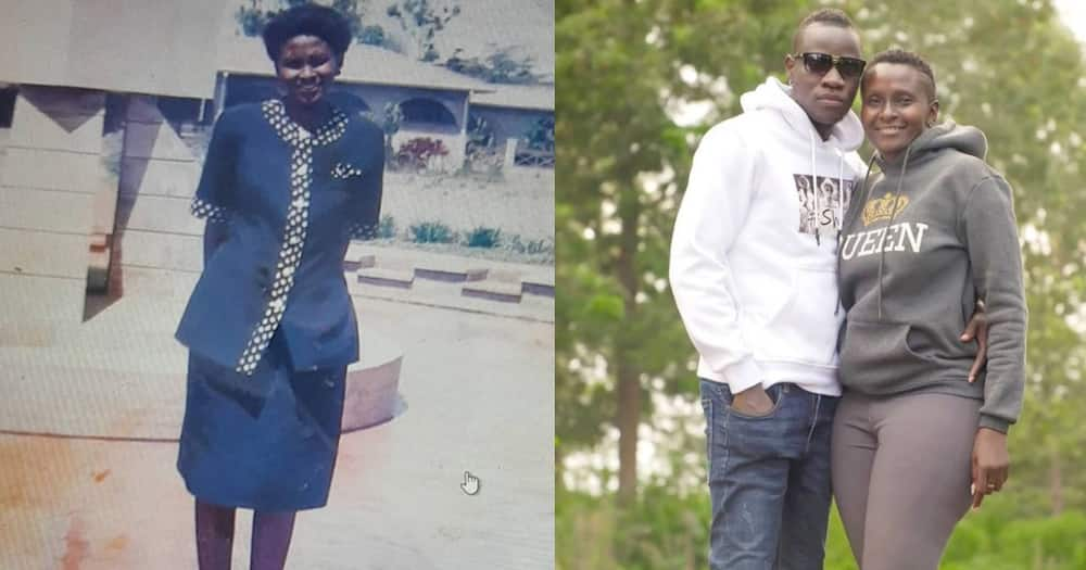 Esther Musila Shares TBT Photo of Herself Back when Lover Guardian Angel Was Still 2 Years Old