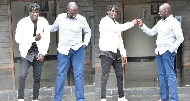 DP Ruto ashirikiana na muimbaji Willy Paul kupiga jeki sanaa ya Kenya