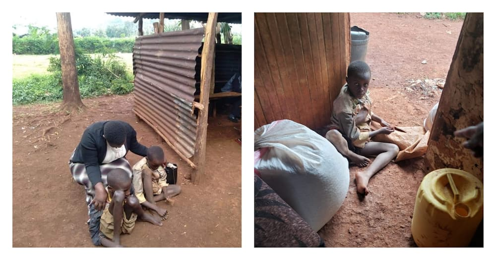 Kisii family struggling with bizarre limb deformities in their 3 sons