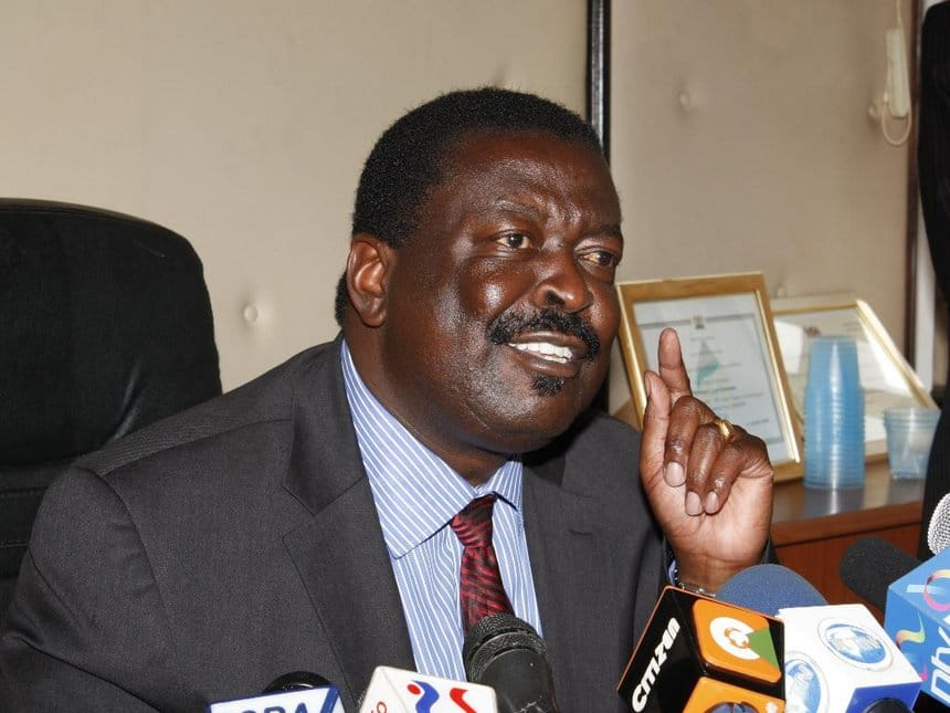 Mudavadi rules out joining government, vows to put Jubilee on check to the end