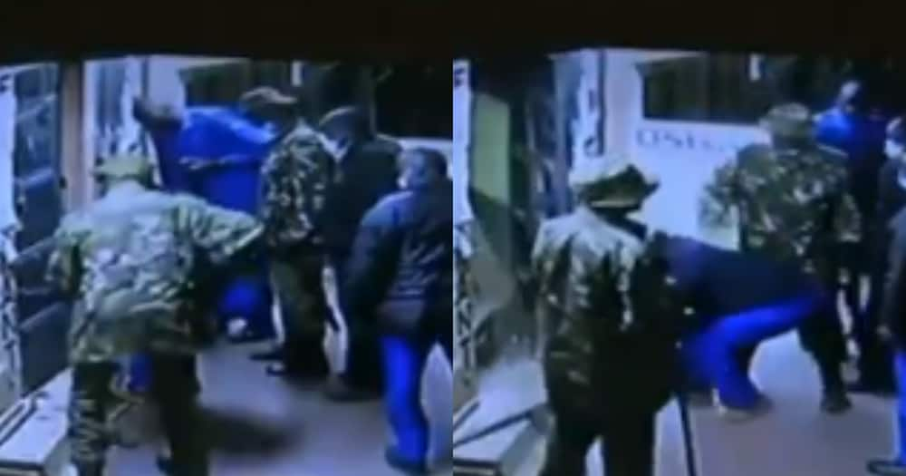 Kenyans demand answers after CCTV video of police officers stealing from bar emerged