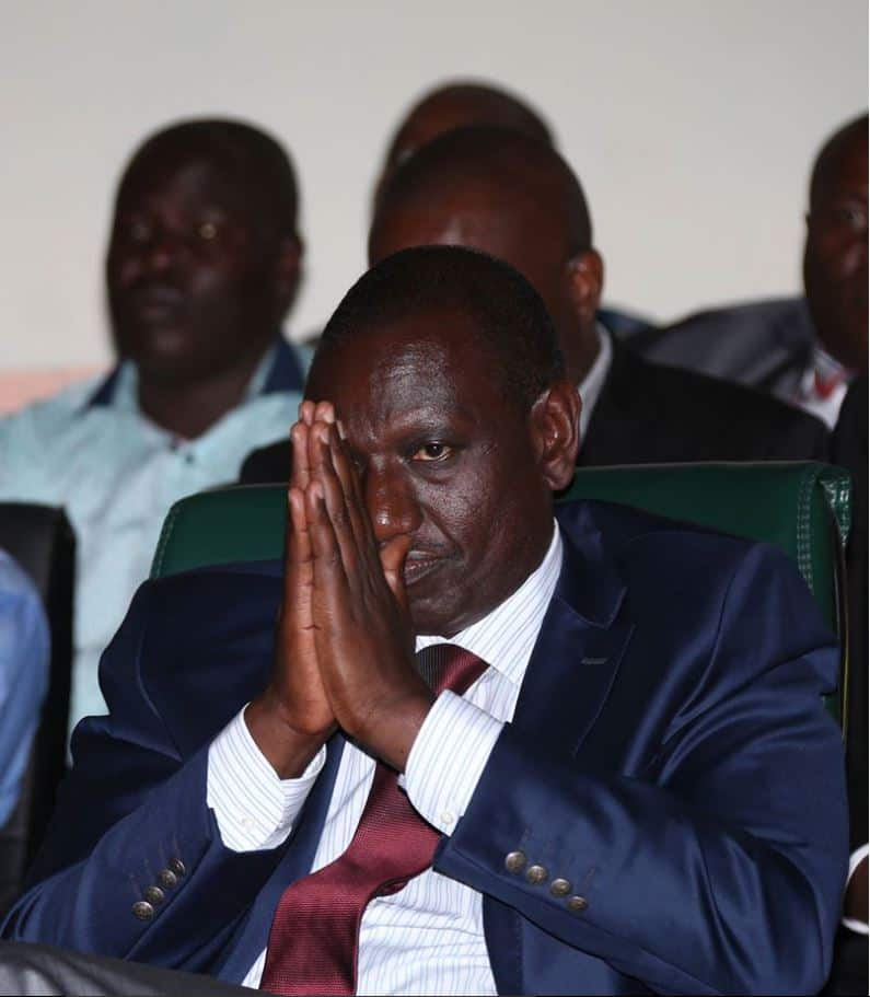 Kenyans take on William Ruto after he admits his office was used in KSh 40bn fake arms deal