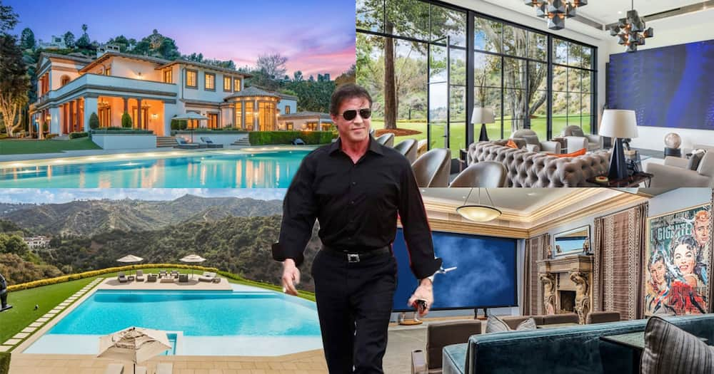 Sylvester Stallone is selling his mansion.