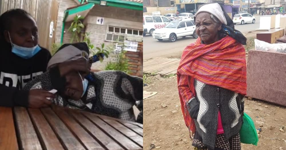 Teresiah Wambui was reunited with her family after getting lost in Nairobi. Photo: Ev Mercy Nungari original page.