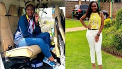 Soft Life: Mwangi wa Iria's Daughter Brags About Boarding a Helicopter from Naivasha to Nairobi