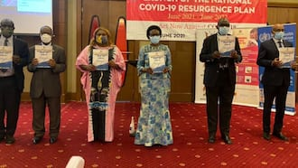 Uganda Advises Health Workers to Wear 2 Face Masks as Country Battles 2nd Wave of COVID-19