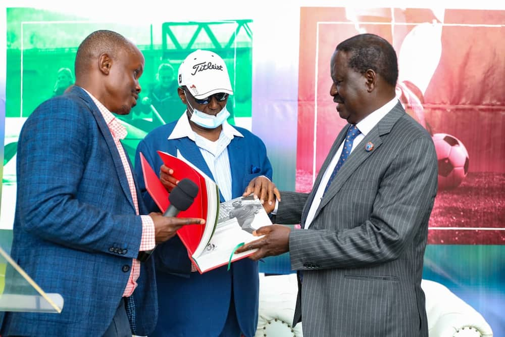 Kirubi described Baba as a fighter and wished him as he planned to unveil the much-anticipated report. Photo: Two Rivers Mall.