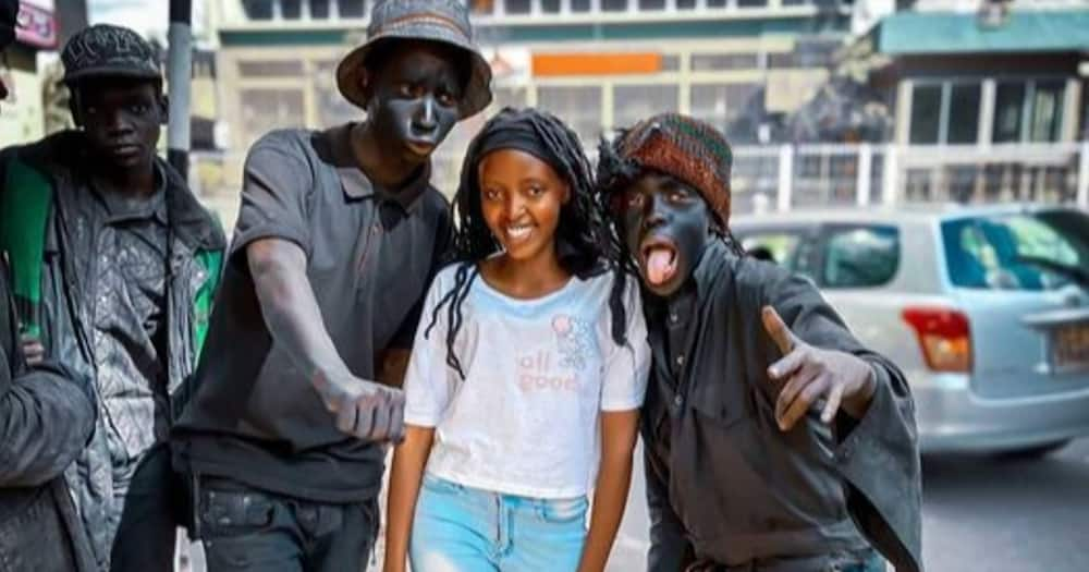 You Tuber Mungai Eve urged female fans falling for her to stop.