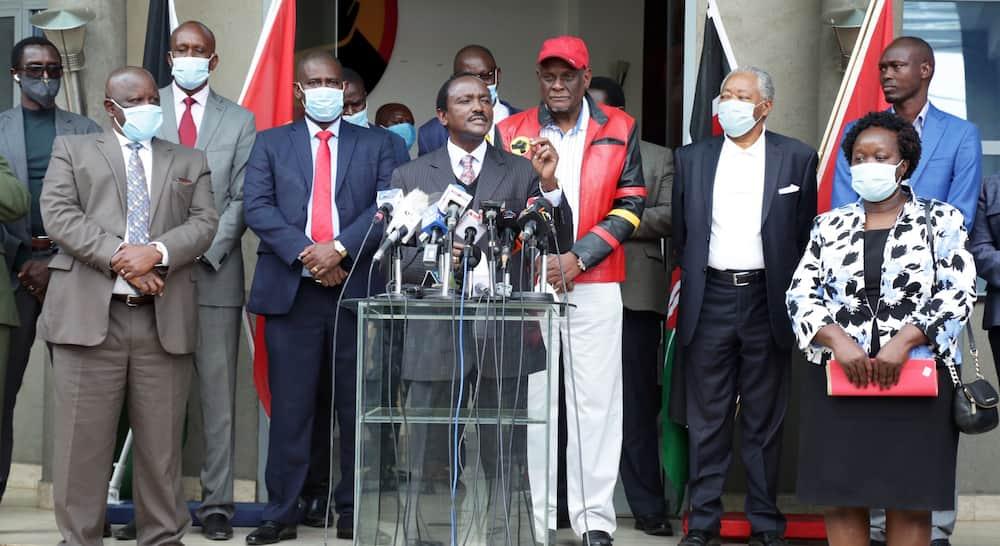 Kalonzo Musyoka is a two-faced treacherous character - ODM