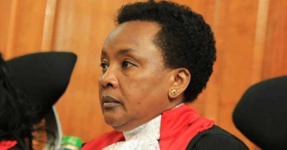Deputy Chief Justice Philomena Mwilu. Photo: The Judiciary.