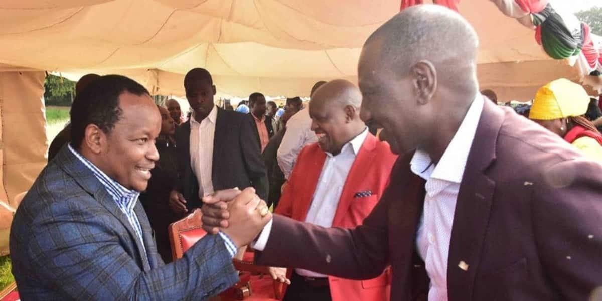 MP Ngunjiri Wambugu tells Ruto to shape up or ship out, says Jubilee not  his property