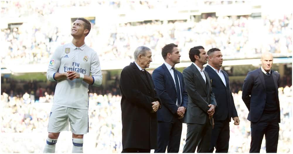 The one time Cristiano Ronaldo and Ronaldo Nazario met in a football match