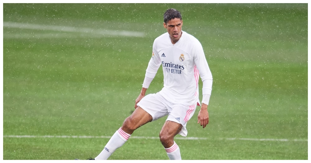 Real Madrid star Raphael Varane while in action for Real Madrid. Photo: Getty Images.