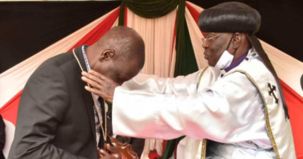Askofu ateta kuhusu pesa alizopewa baada ya kumtembelea Ruto