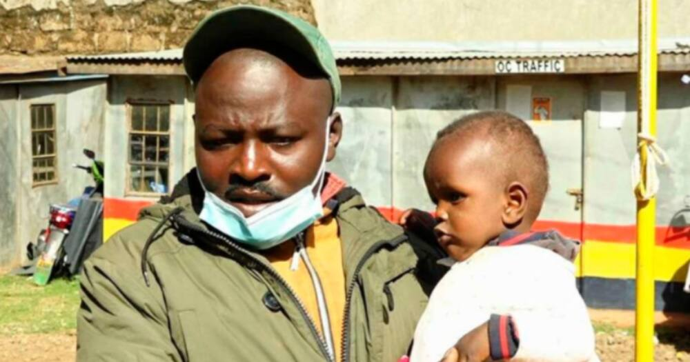 Meru Boda Boda Rider Warms Hearts after Rescuing Abandoned Child, Taking Care of Him