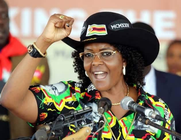 What happened to Grace Mugabe