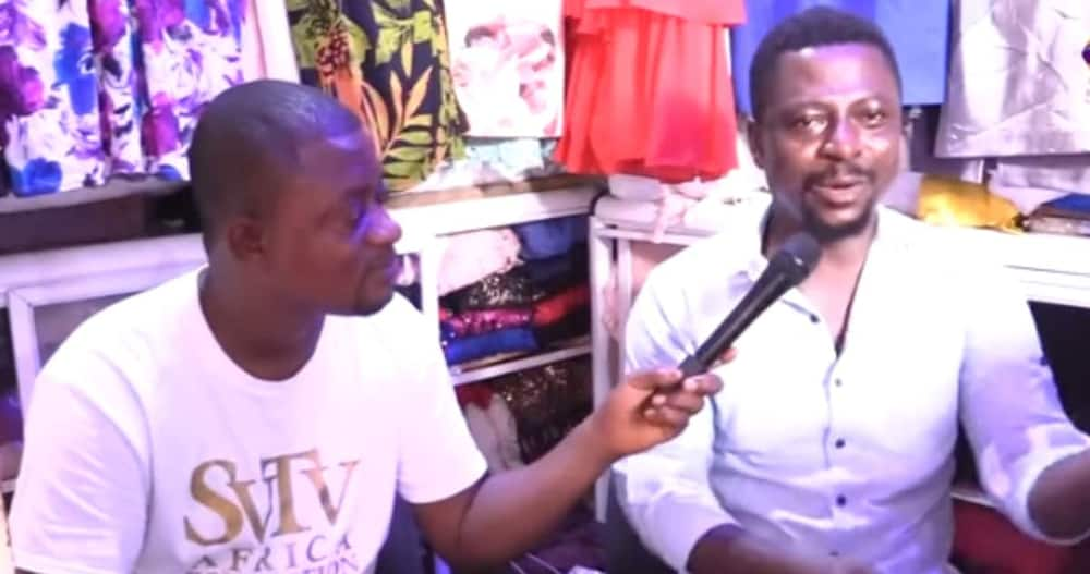 Frank Asiamah: Man who sold Used Clothes for 20 Years says he Built House & Cared for 3 kids