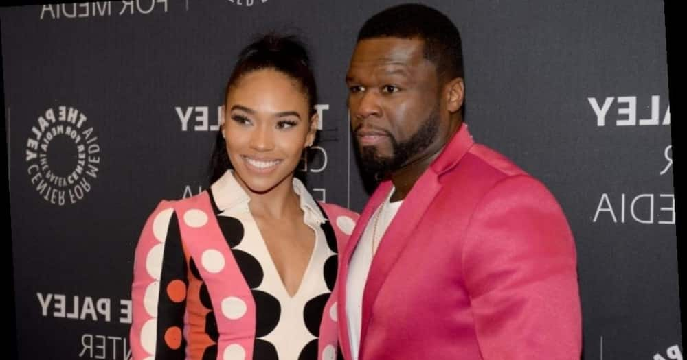 50 Cent's girlfriend did not like the new gift he bought her because it was small. Photo: Getty Images.