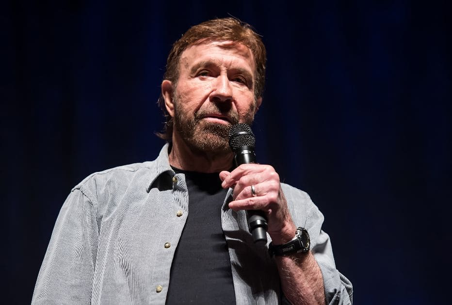 Actor Chuck Norris denies being at pro-Trump rally, says viral photo was a look-alike