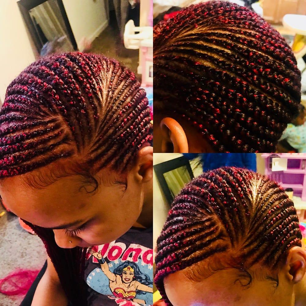 cornrow braided hairstyles
