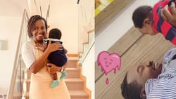 Ivy Namu Gushes Over Willis Raburu and Their Son Playing Together, Says They Are Alike