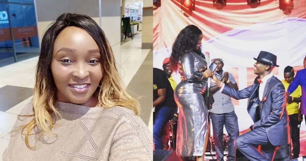 "Karen Nyamu says she has many intimate photos with Samidoh: ""nikipost mnaleta shida"""