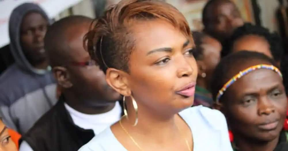 Karen Nyamu is a politician and lawyer.