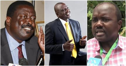 Mudavadi's troops mock Ruto for dishing money in harambees instead of helping maize farmers