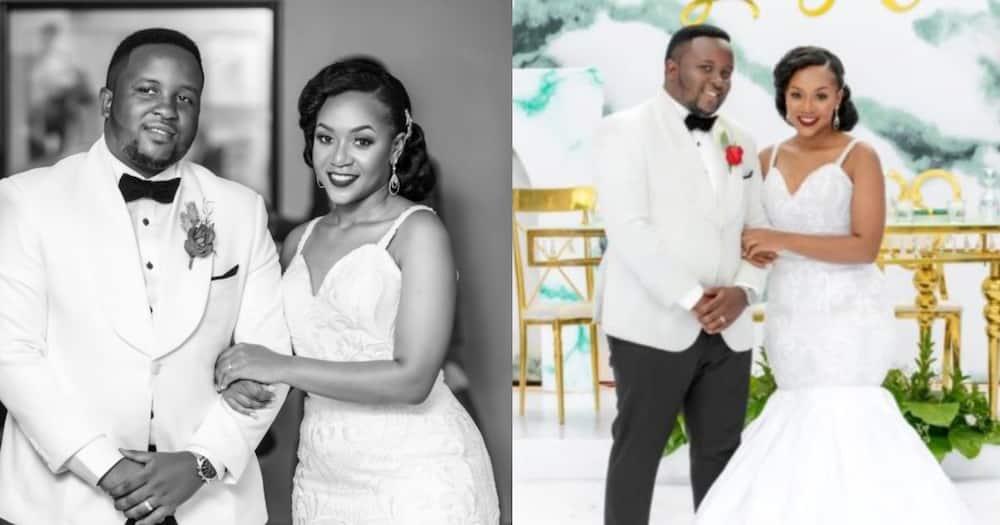 Laban Mugisha and his wife Christine Byaruhanga.