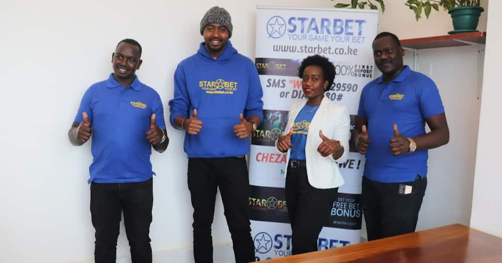 Churchill Show Comedian Jasper Murume. Photo: StarBet Kenya.