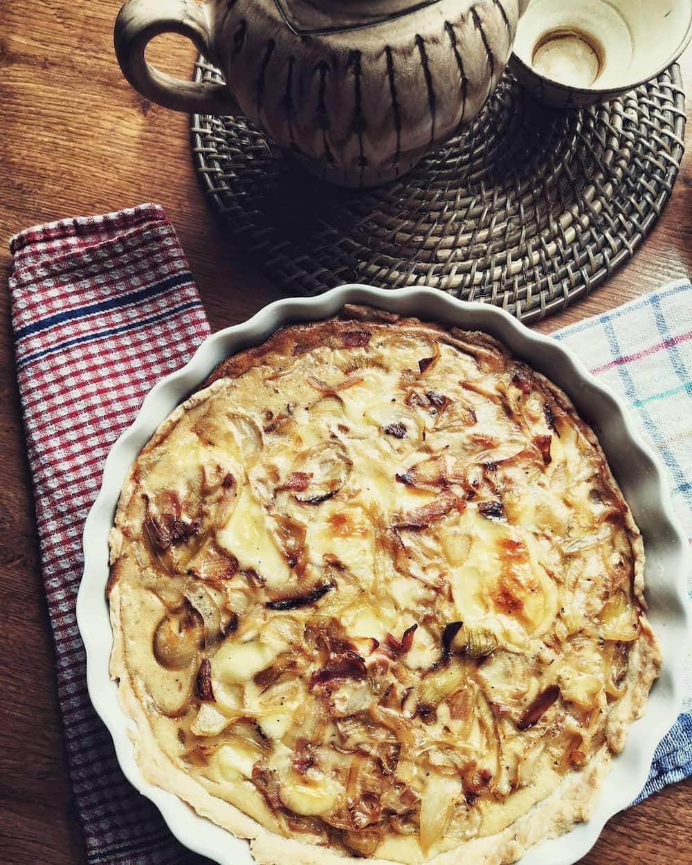 cheese and onion quiche recipe