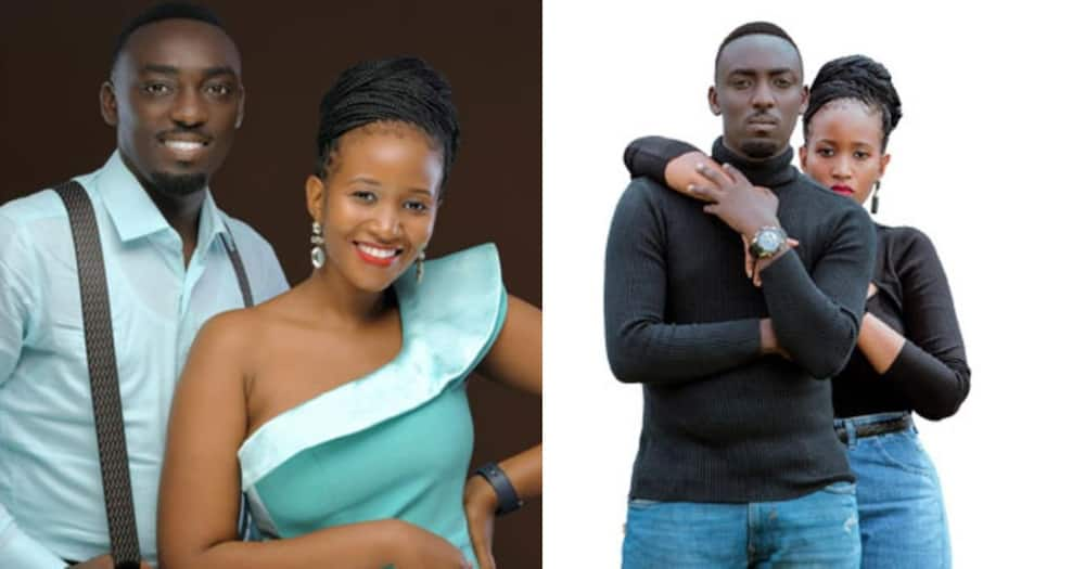 Ronnie McVex Musiimenta and Patience Mbabazi.