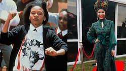 Picha Murwa za Mwigizaji wa Sarafina, Leleti Khumalo Anayeishi na Vitiligo